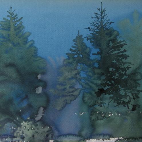 Endre Penovác, A/008 – 1996, akvarell, 35x50 cm, Source: http://penovacendre.com/node/35?page=2&titles=off