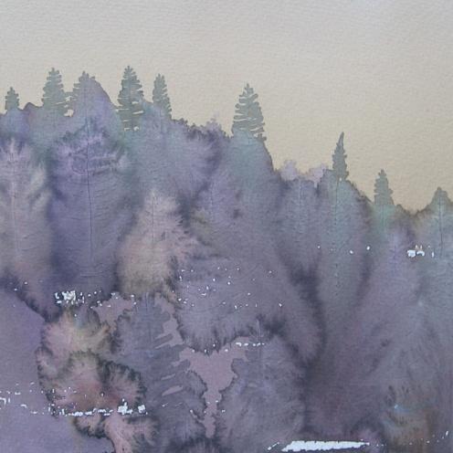 Endre Penovác, A/004 – 1995, akvarell, 25x35 cm, Source: http://penovacendre.com/node/35?page=2&titles=off