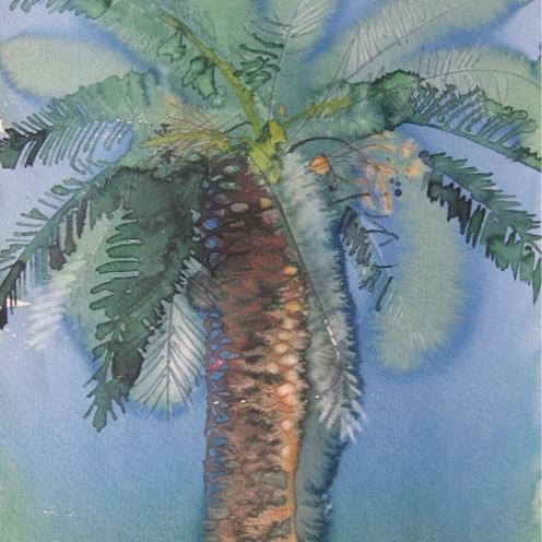 Endre Penovác, A/007 – 1995, akvarell, 35x25 cm, Source: http://penovacendre.com/node/35?page=2&titles=off