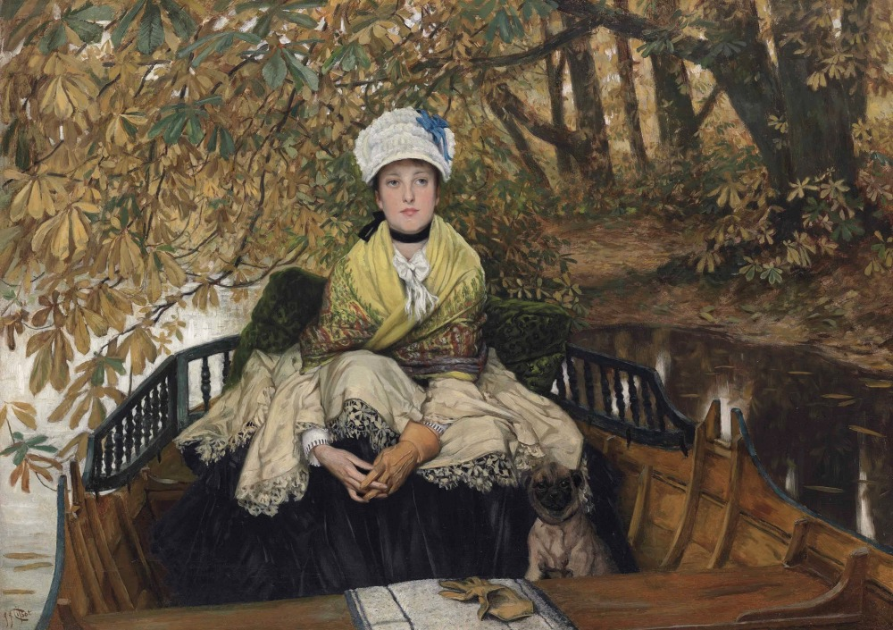 63cb17f7799 James Tissot  Waiting (In the Shallows) – At Sunnyside – Where Truth ...