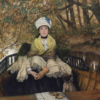 James (Jacques) Joseph Tissot (1836-1902), Waiting (also known as In the Shallows), signed 'J J Tissot' (lower left), oil on canvas, 22 x 31 in. (55.9 x 78.8 cm.), Source: Christie's, Link: https://www.christies.com/lotfinder/lot/james-joseph-tissot-waiting-5807496-details.aspx?from=searchresults&intObjectID=5807496&sid=aea0dd13-66a5-487d-9f80-304c17f332f2