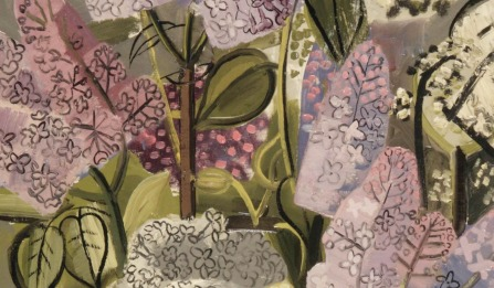 Jean Brusselmans (Belgian, 1884-1953), Seringen [Lilacs], 1934. Oil on canvas, 85 x 60 cm., Source: https://herzogtum-sachsen-weissenfels.tumblr.com/image/179720043974 (detail)