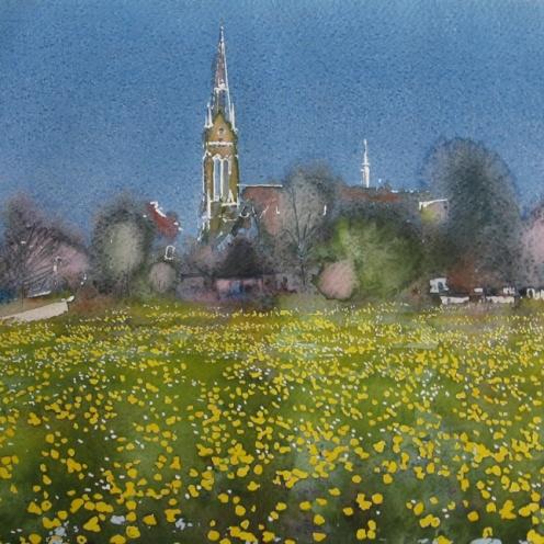 Endre Penovác, A/027 – 2011, akvarell, 28x38 cm, http://penovacendre.com/node/35?titles=off