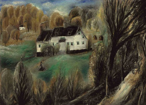 Reuven Rubin (1893-1974) Autumn Landscape, Peekskill, New York (1928), signed and signed again in Hebrew 'Rubin' (lower right) , oil on canvas laid down on board, 20 1/8 x 27 7/8 in. (51.2 x 70.8 cm.) Source: Christie's.