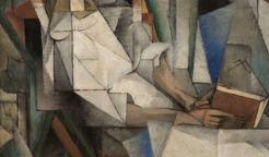 Diego Rivera, Mexican (Guanajuato, Mexico, 1886 - 1957, Mexico City, Mexico), Dos Mujeres (Two Women), 1914, Oil on canvas, Arkansas Arts Center Foundation Collection: Gift of Abby Rockefeller Mauzé, New York. Public domain US, Link: https://www.arkansasartscenter.org/art-in-context (detail)