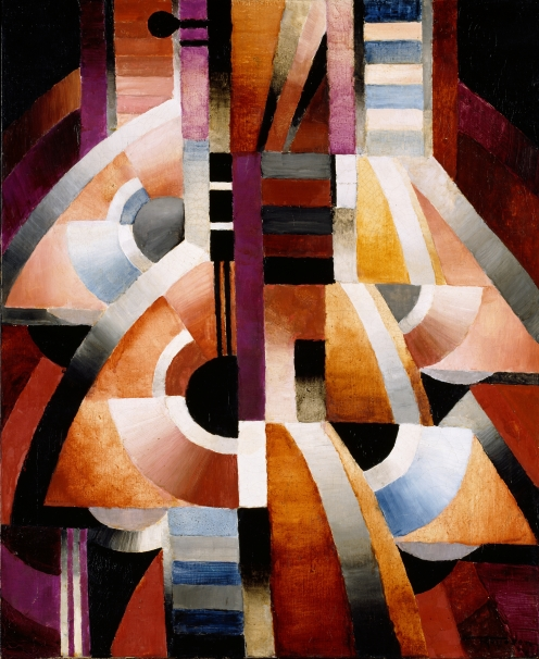 Thorvald Hellesen, Balalaika (NOR), 1916, oil on canvas, 61 x 50 cm, Source: Nasjonalmuseet, The Fine Art Collections