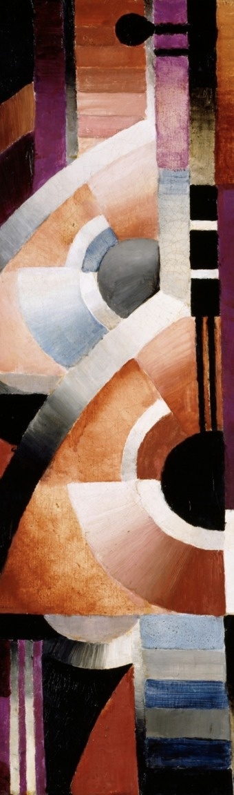 Thorvald Hellesen, Balalaika (NOR), 1916, oil on canvas, 61 x 50 cm, Source: Nasjonalmuseet, The Fine Art Collections, detail.